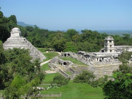 Mayan City of Palenque